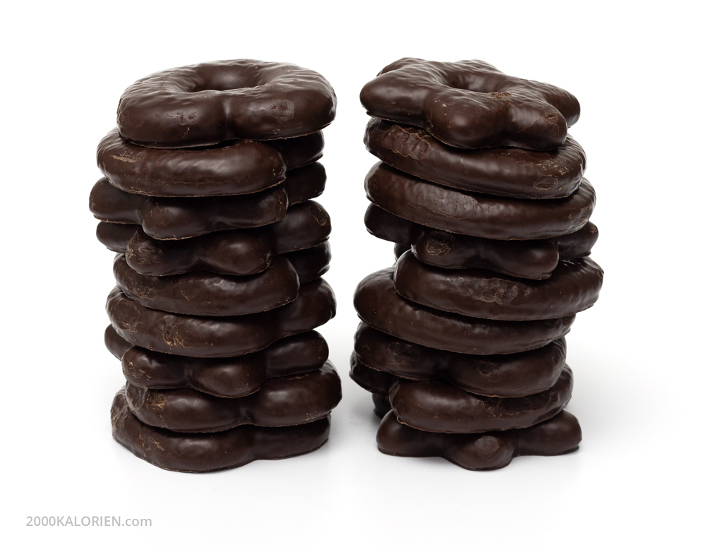 Schokolebkuchen (Zartbitterschokolade)